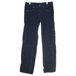 Kuhl Womens Blue Cargo Pants Size 6 Regular